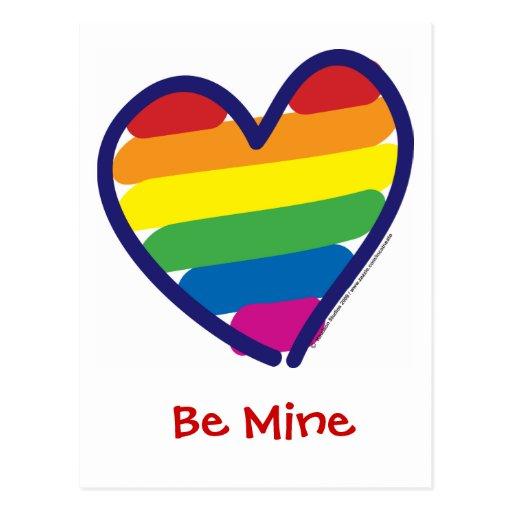 Orgullo gay del el día de San Valentín Postales