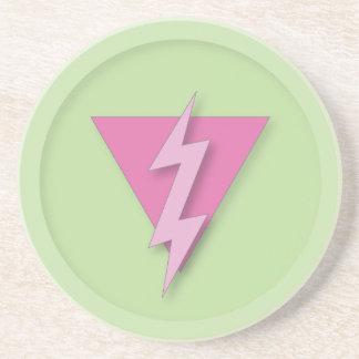 Orgullo gay eléctrico posavasos diseño