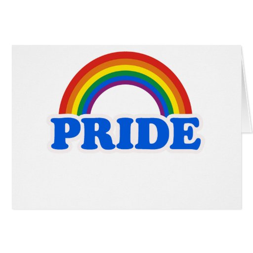 ORGULLO GAY FELICITACIÓN