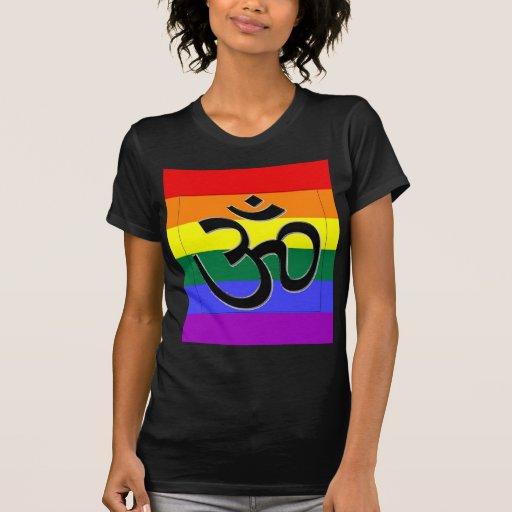Orgullo gay hindú camisetas