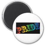 Orgullo gay imán redondo 5 cm