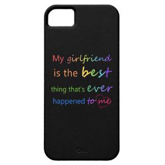 """Orgullo gay - """"mi novia es """" iPhone 5 carcasas"""