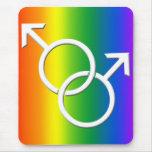 Orgullo gay Mousepads de Mousepad del orgullo gay