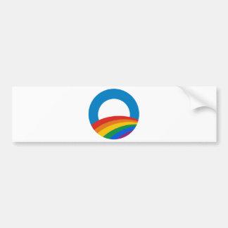 Orgullo gay Obama Etiqueta De Parachoque