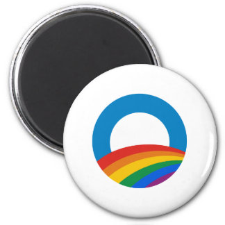 Orgullo gay Obama Imán Redondo 5 Cm