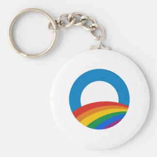 Orgullo gay Obama Llavero Personalizado