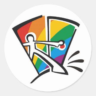 Orgullo gay etiqueta