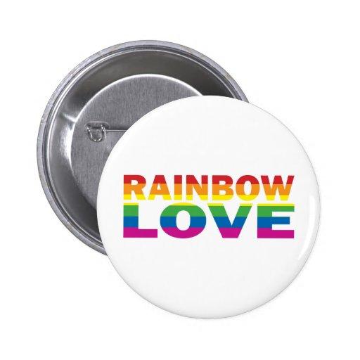 Orgullo gay RAINBOW-LOVE Pin