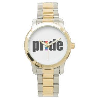 Orgullo gay relojes de mano