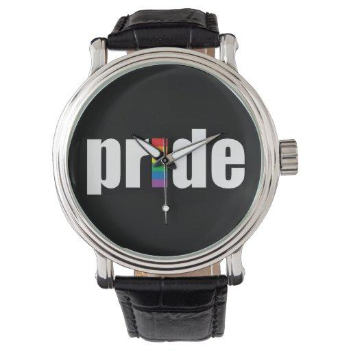 Orgullo gay relojes de pulsera