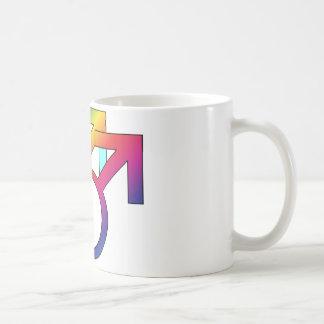 Orgullo gay taza básica blanca