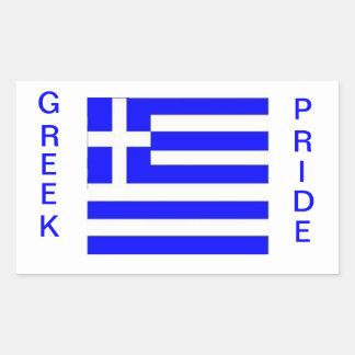 Orgullo griego Bandera de Grecia Pegatinas
