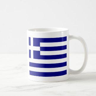 Orgullo griego taza básica blanca