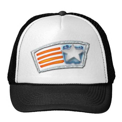 Orgullo hecho americano gorros