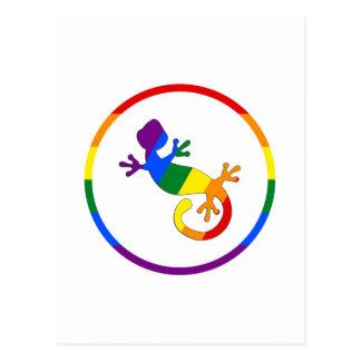 Orgullo homosexual y lesbiano tarjeta postal