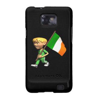 Orgullo irlandés galaxy SII carcasas