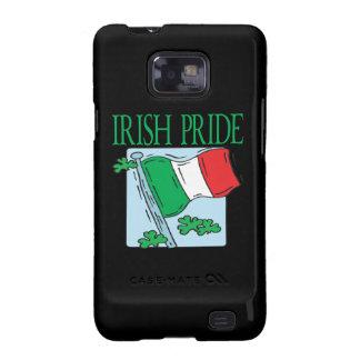 Orgullo irlandés galaxy SII carcasa