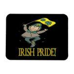 Orgullo irlandés imán de vinilo