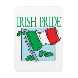 Orgullo irlandés imán foto rectangular