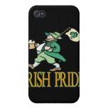 Orgullo irlandés iPhone 4 cárcasas