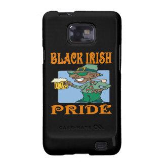 Orgullo irlandés negro samsung galaxy s2 fundas