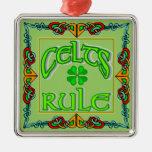 Orgullo irlandés ornamento para arbol de navidad