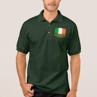 Orgullo irlandés polo camiseta