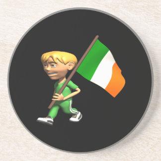Orgullo irlandés posavasos personalizados
