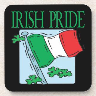 Orgullo irlandés posavasos de bebidas