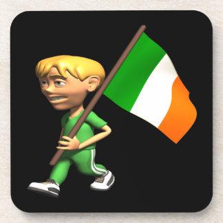 Orgullo irlandés posavasos de bebida
