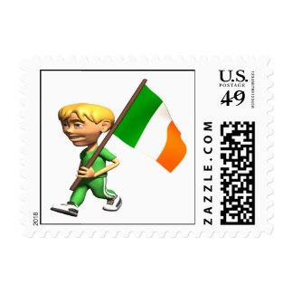 Orgullo irlandés franqueo
