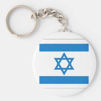 ¡Orgullo israelí! Llavero Redondo Tipo Pin