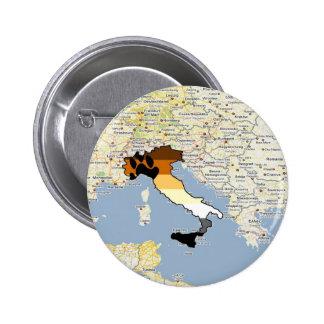 Orgullo Italia del oso Pin Redondo 5 Cm