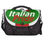 Orgullo italiano bolsa de ordenador