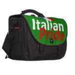 Orgullo italiano bolsas de ordenador