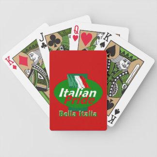 ORGULLO ITALIANO BARAJA CARTAS DE POKER