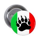 Orgullo italiano del oso pins