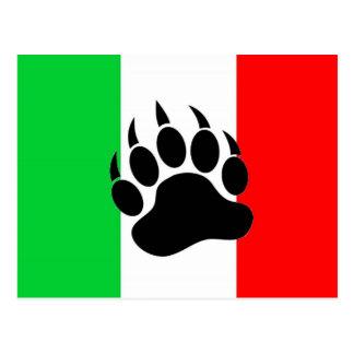 Orgullo italiano del oso postal