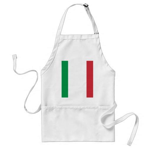 Orgullo italiano delantal