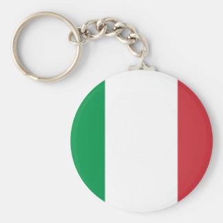 Orgullo italiano llavero redondo tipo pin