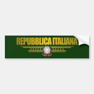 Orgullo italiano pegatina para auto