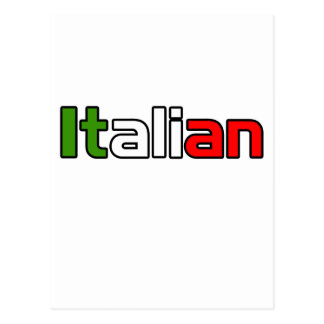 Orgullo italiano postal