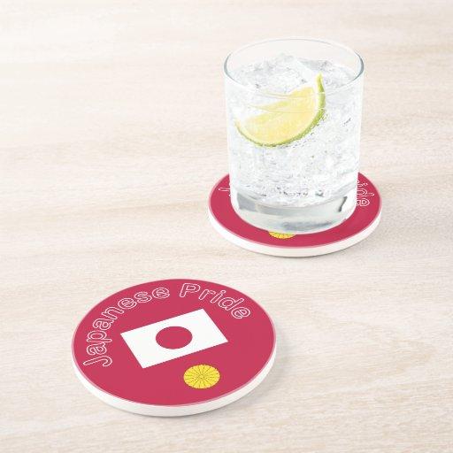 Orgullo japonés posavaso para bebida