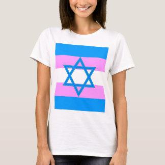 Orgullo judío del transexual playera