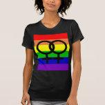 Orgullo lesbiano camisetas
