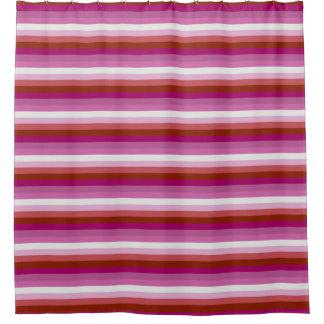 Orgullo lesbiano cortina de baño