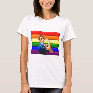 Orgullo lesbiano playera