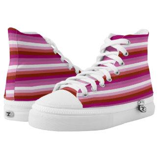 Orgullo lesbiano zapatillas