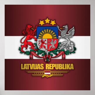Orgullo letón póster
