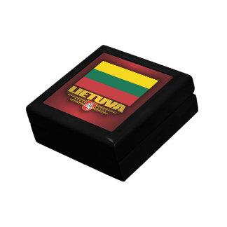 Orgullo lituano caja de joyas